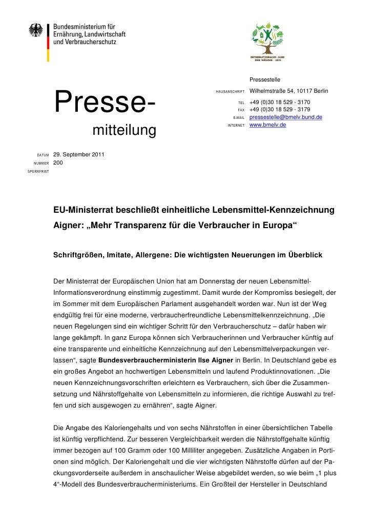Pressestelle                                                                                   Wilhelmstraße 54, 10117 Ber...