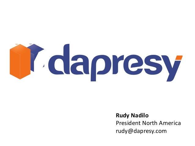 Rudy NadiloPresident North Americarudy@dapresy.com