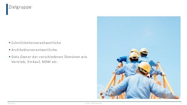 Zielgruppe 09.06.2021 © 2021 - IBsolution GmbH 3  Schnittstellenverantwortliche  Architekturverantwortliche  Data Owner...