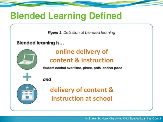 What blended learning is – and isn't | blended learning universe.