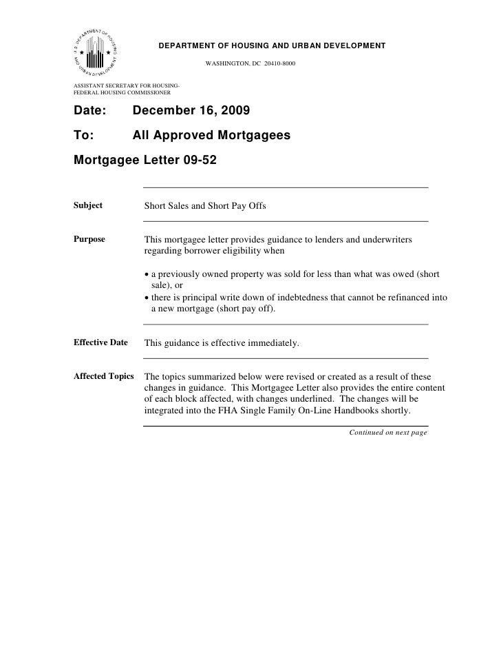 11                          DEPARTMENT OF HOUSING AND URBAN DEVELOPMENT                                      WASHINGTON, D...