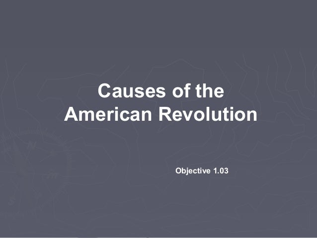 reasons and causes of the american revolution Causes of the american revolution  causes of the american revolution the american revolution began for many reasons, some are long-term social, economic, and political changes in the british colonies, prior to 1750 provided the basis for and started a course to america becoming an independent nation under it's own control with its own government.