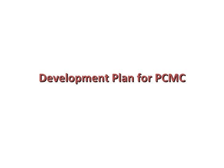 Development Plan for PCMC
