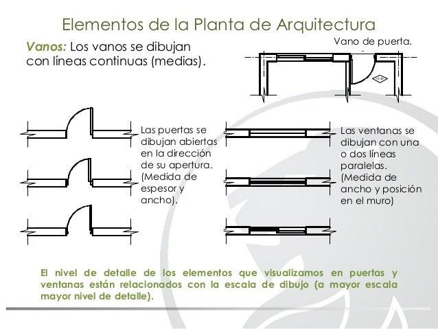 09 dibujo tecnico dibujo de arquitectura for Simbologia de puertas en planos arquitectonicos