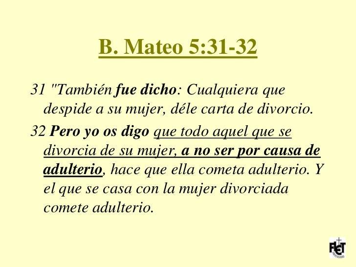 Resultado de imagen para Mateo 5,31-32