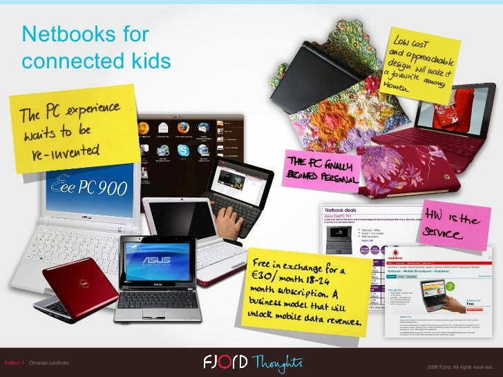 Edition 1   Christian Lindholm Netbooks for  connected kids
