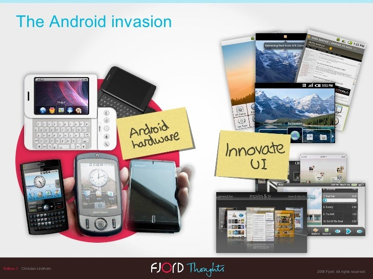 Edition 1   Christian Lindholm The Android invasion