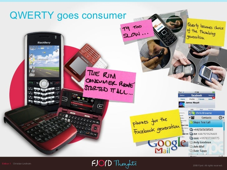 Edition 1   Christian Lindholm QWERTY goes consumer