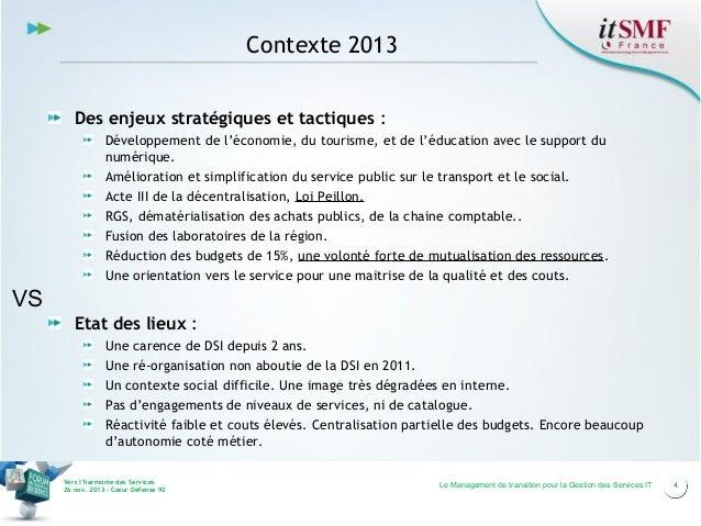 Contexte 2013 Des enjeux stratégiques et tactiques : Développement de l'économie, du tourisme, et de l'éducation avec le s...