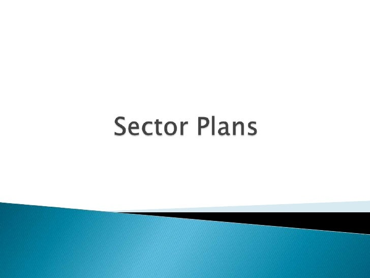 Sector Plans    <br />