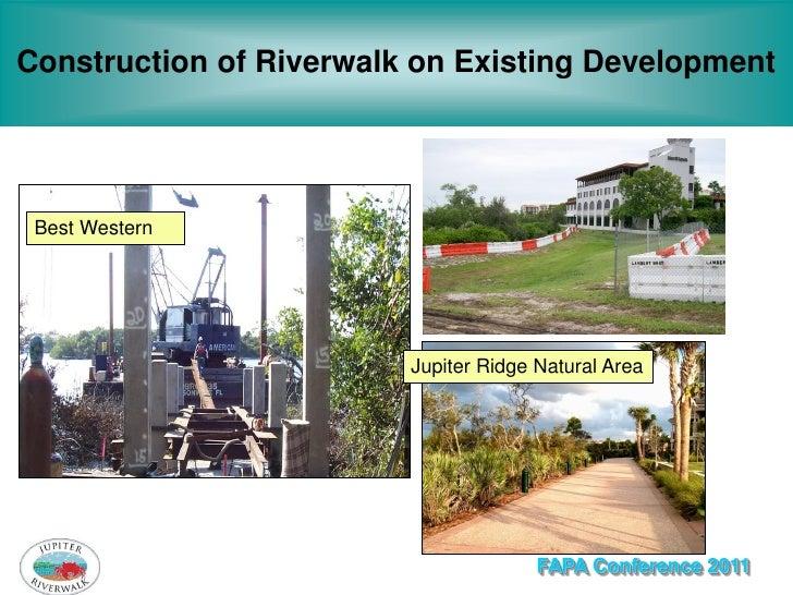 Construction of Riverwalk on Existing Development                             River Plaza Best Western                    ...
