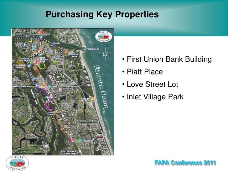 Purchasing Key Properties                • First Union Bank Building                • Piatt Place                • Love St...