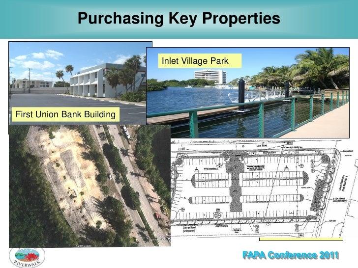 Purchasing Key Properties                            Inlet Village ParkFirst Union Bank Building  Piatt Place             ...