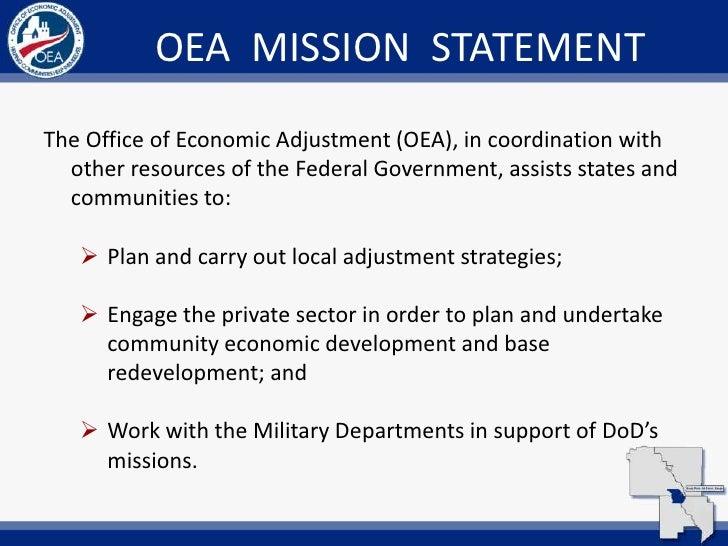 11 oea mission statement