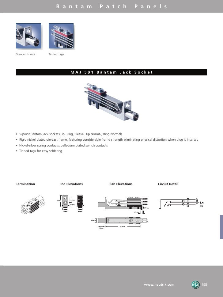 Neutrik Bantam Jack Wiring Diagram on phono jack diagram, jack plug, phone jack diagram, jack pump diagram, jack parts diagram,
