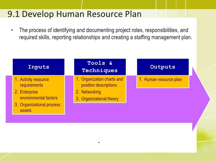 human resource plan template pmbok.html