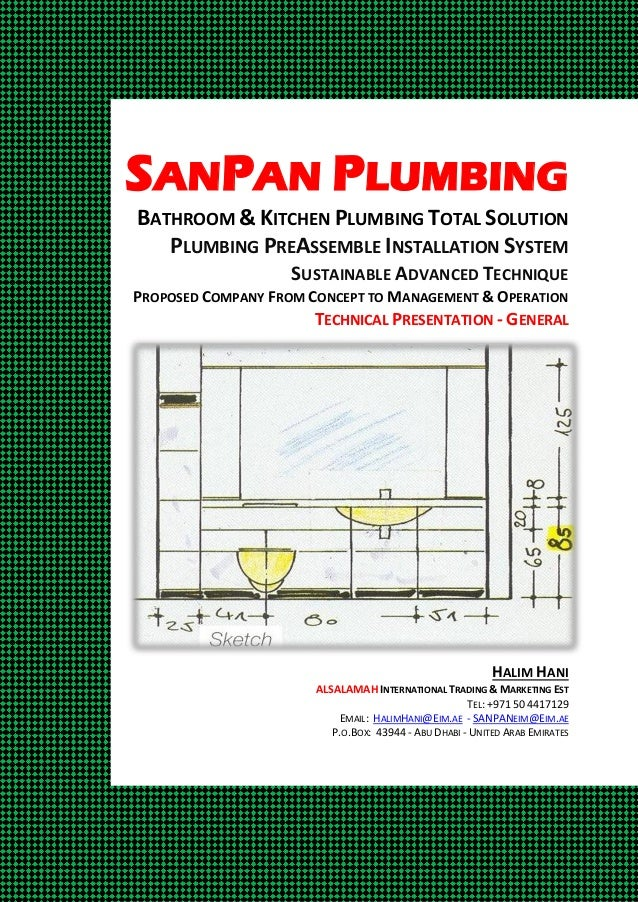 SANPAN PLUMBING BATHROOM & KITCHEN PLUMBING TOTAL SOLUTION PLUMBING PREASSEMBLE INSTALLATION SYSTEM SUSTAINABLE ADVANCED T...