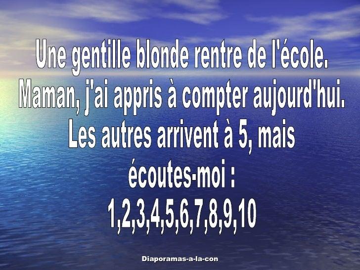 09 Une Blonde A Lecole Slide 2