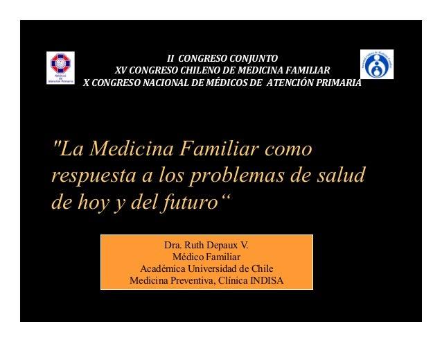 Dra depaux medicina familiar como respuesta a los - La domotica como solucion de futuro ...