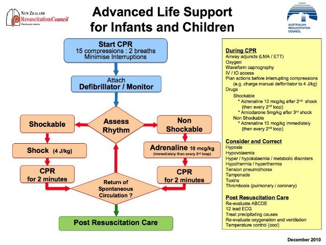 advance life support Part 12: pediatric advanced life support web-based integrated 2010 & 2015 american heart association guidelines for cardiopulmonary resuscitation and emergency cardiovascular care.