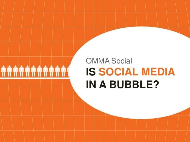 OMMA SocialISSOCIAL MEDIA IN A BUBBLE?<br />