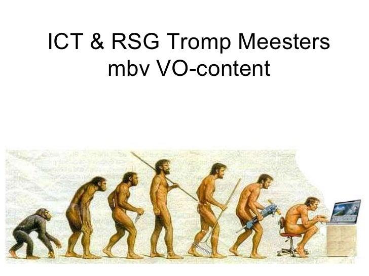 ICT & RSG Tromp Meesters mbv VO-content