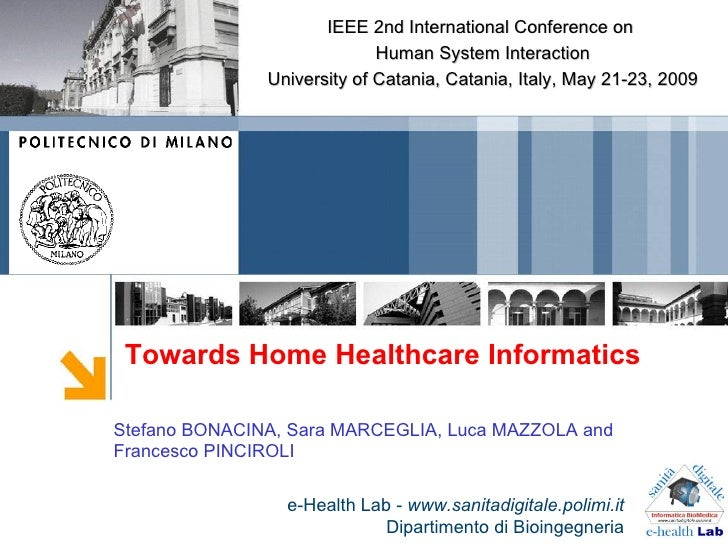 IEEE 2nd International Conference on                              Human System Interaction                University of Ca...