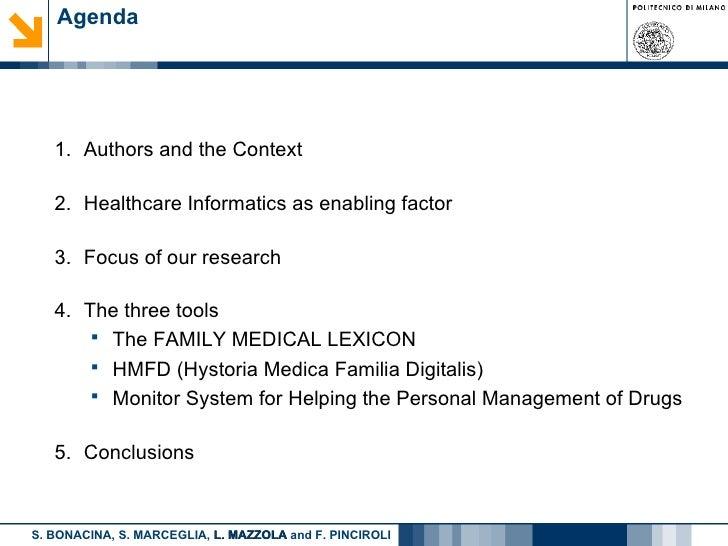 Towards Home Healthcare Informatics Slide 2