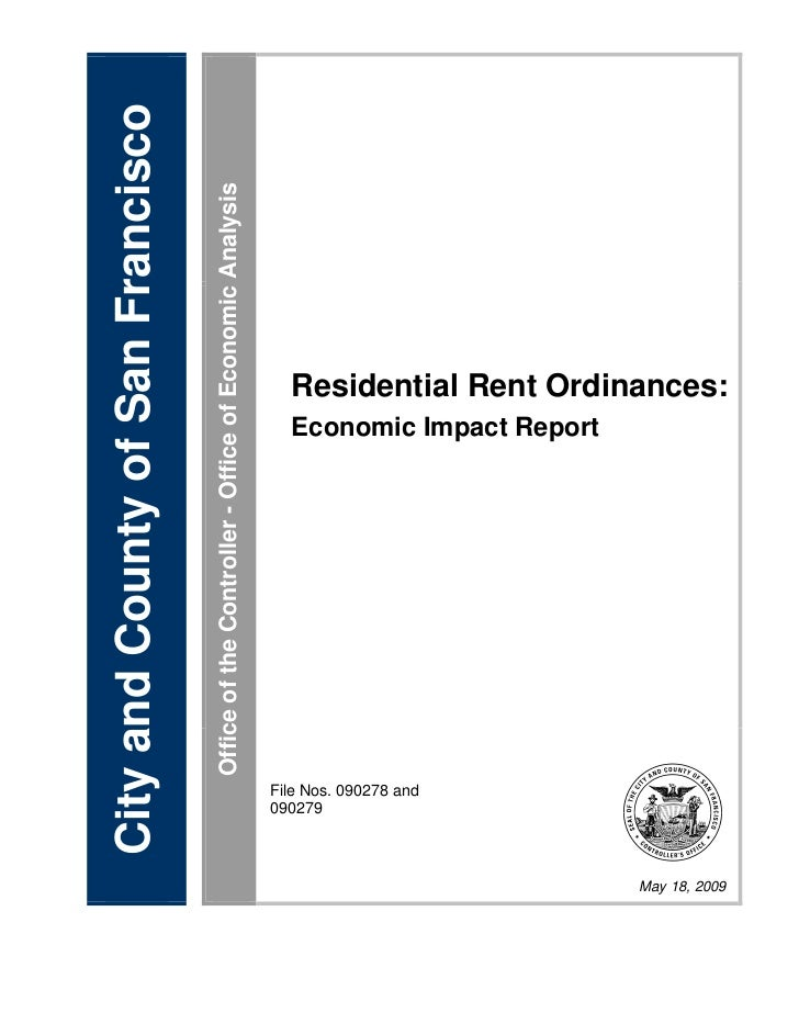 City and County of San Francisco                                   Office of the Controller - Office of Economic Analysis ...