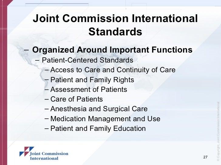 Using the 2018 Guidelines from the Joint Commission to ... |Patient Safety Standards Jcaho Policies