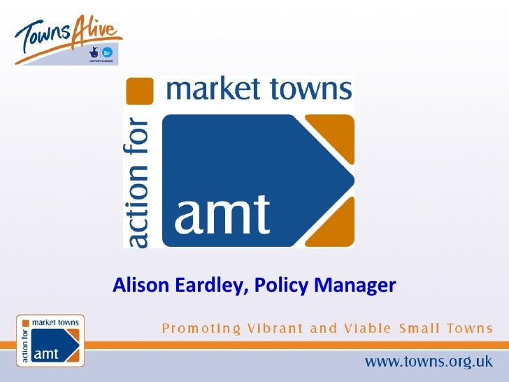 Alison Eardley, Policy Manager