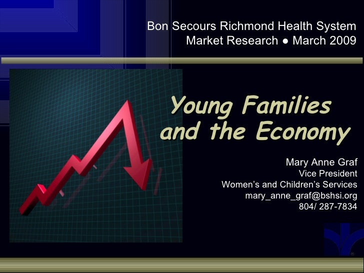 Bon Secours Richmond Health System       Market Research ● March 2009       Young Families  and the Economy               ...