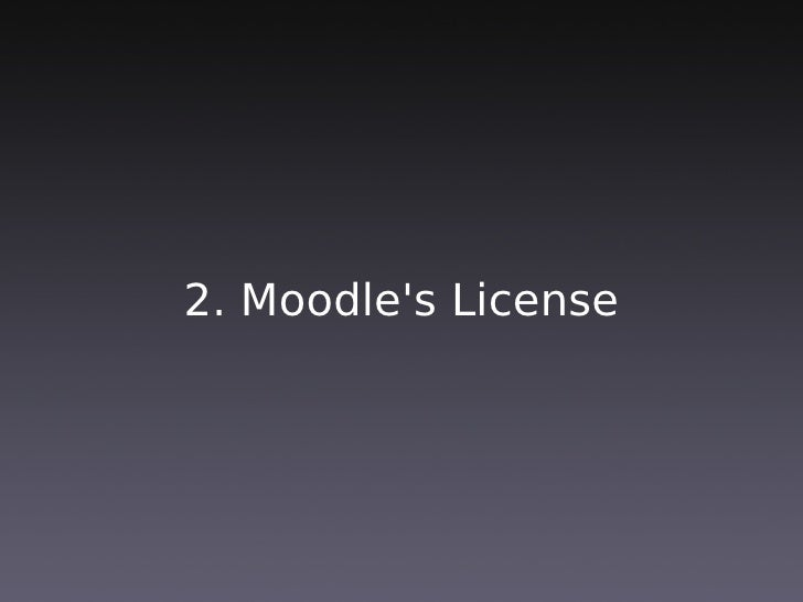 Example 2: Moodle.org
