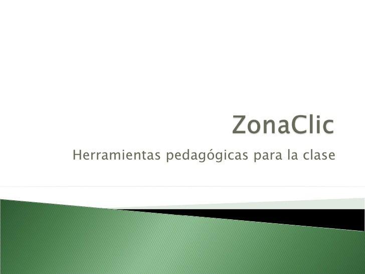 Herramientas pedagógicas para la clase