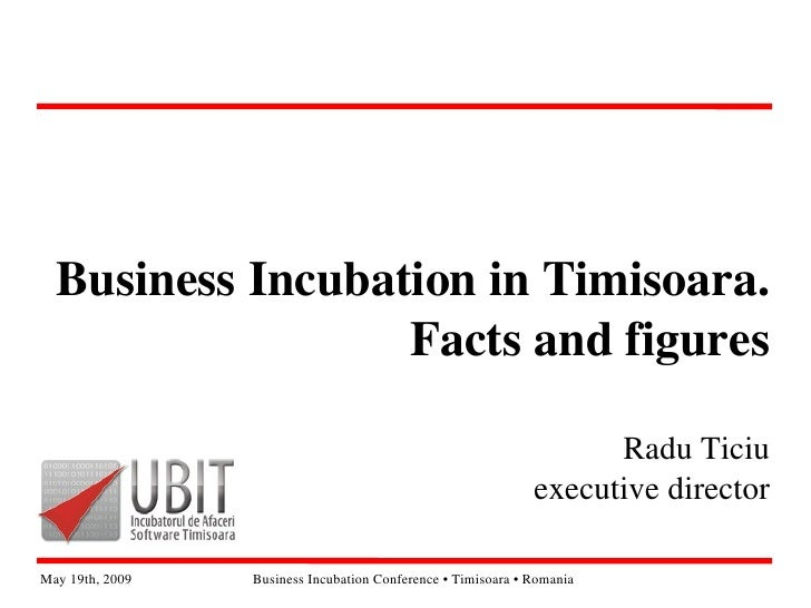 BusinessIncubationinTimisoara.                   Factsandfigures                                                     ...