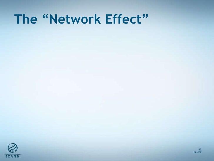 "The ""Network Effect"" 29Jul09"