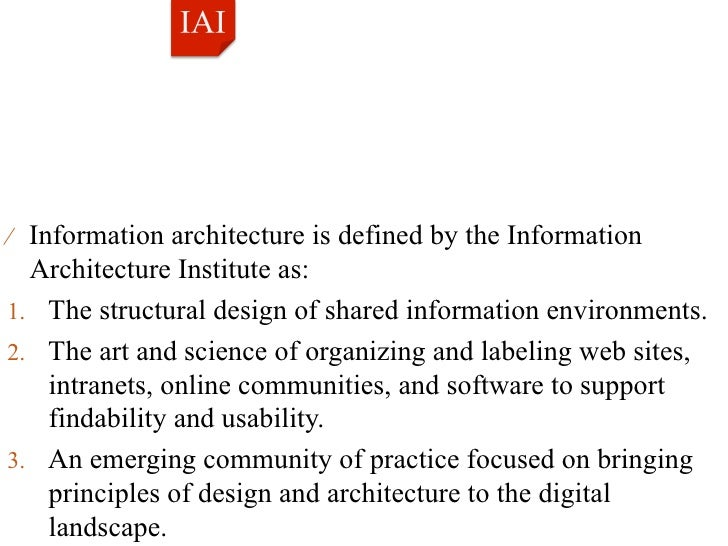 IA Concepts; 2. U2044 Information Architecture ...