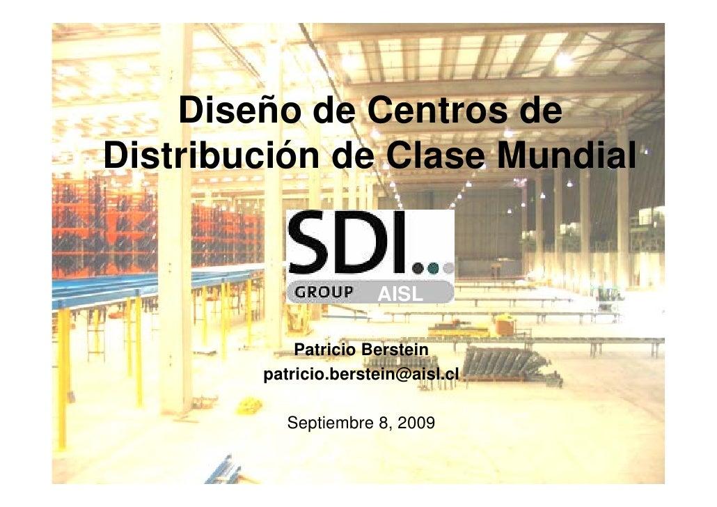 Dise o de centros de distribuci n de clase mundial - Distribucion de salones ...