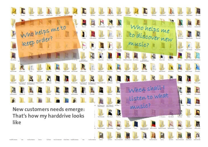 New customers needs emerge: That's how my harddrive looks like    Dr. Patrick Stähler | 11
