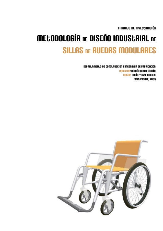 Dise o industrial de sillas de ruedas modulares for Sillas famosas diseno industrial