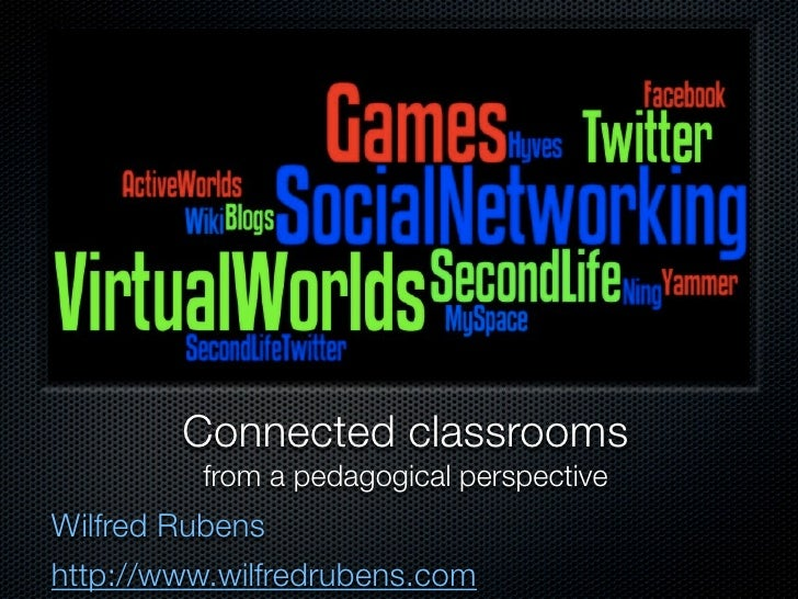 Connected classrooms          from a pedagogical perspective Wilfred Rubens http://www.wilfredrubens.com