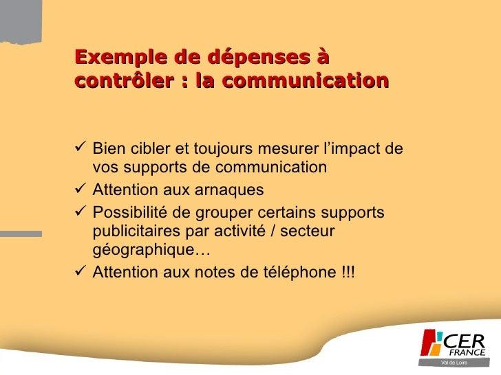 <ul><li>Bien cibler et toujours mesurer l'impact de vos supports de communication </li></ul><ul><li>Attention aux arnaques...