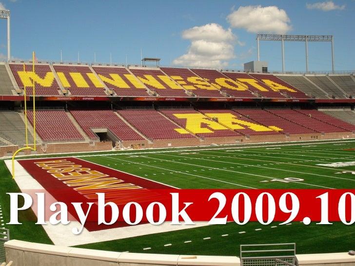 Playbook 2009.10