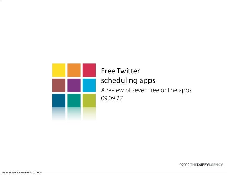 Free Twitter                                 scheduling apps                                 A review of seven free online...
