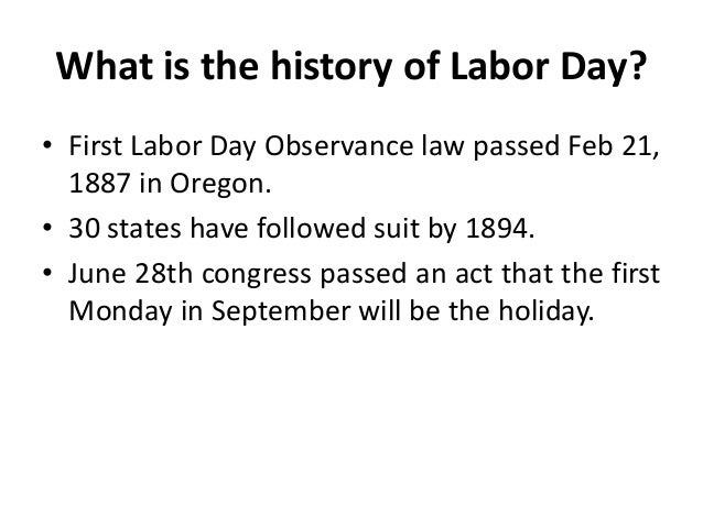 What is the date for labor day in Sydney