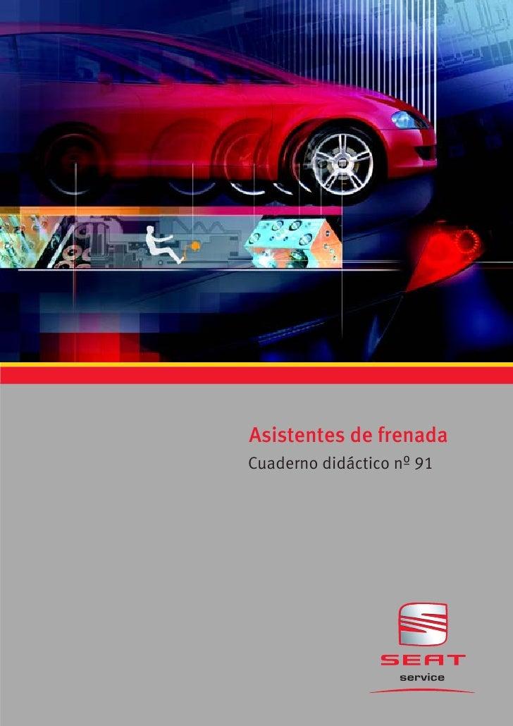 Asistentes de frenadaCuaderno didáctico nº 91