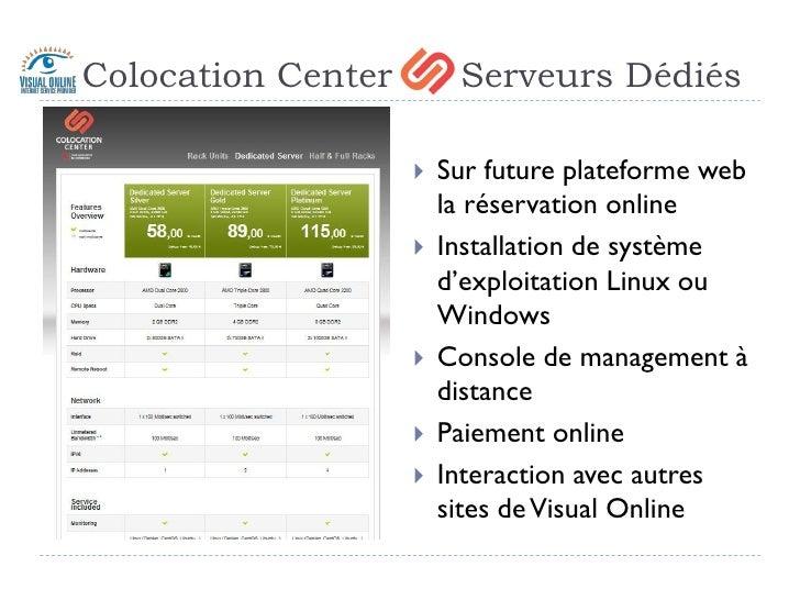 Visual Online - Datacenter - 1er octobre 2009 Slide 3
