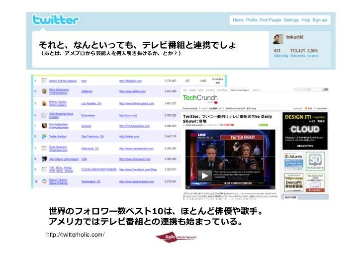 Twitter environment in Japan  by Tokuriki Slide 15