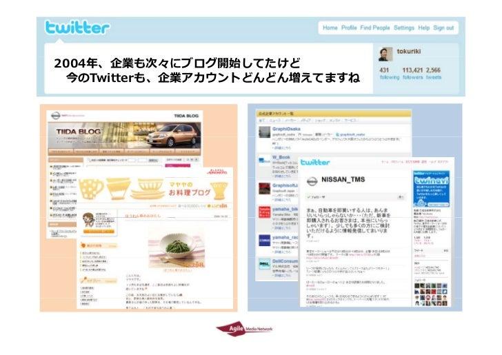 Twitter environment in Japan  by Tokuriki Slide 20