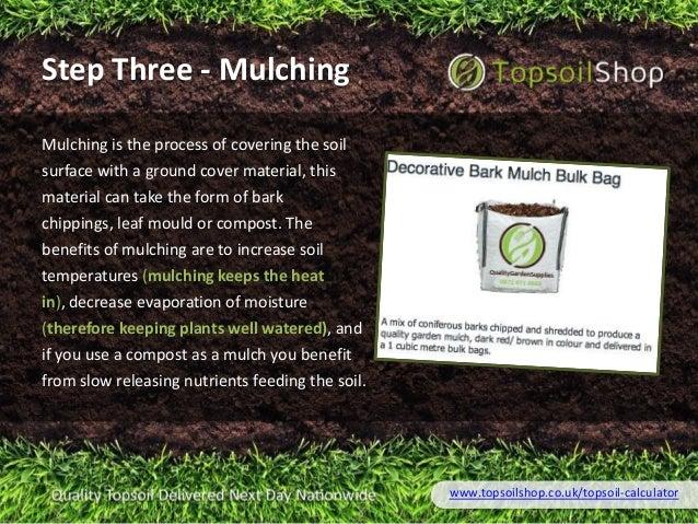Topsoil calculator for Soil calculator